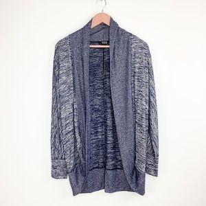NWT A.N.A blue and gray cardigan